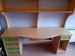 escritorio habitación juvenil