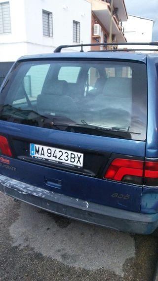 Peugeot 806 1997 ITV recién pasada es gasolina