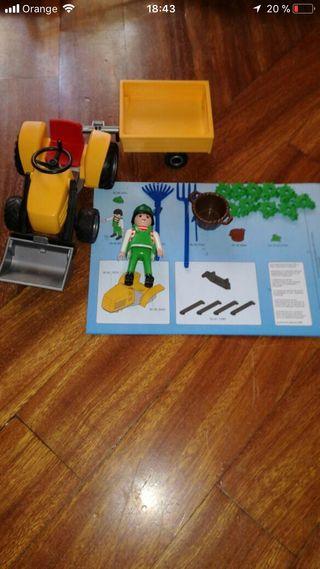 Playmobil 4486 tractor jardin