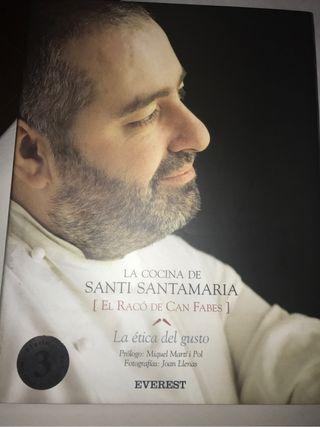 Libro cocina santi santamaria.La Ética y el gusto En Castellano!!!
