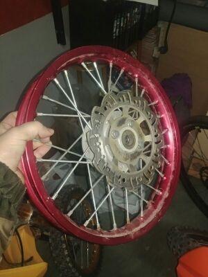 Llanta pit bike 14