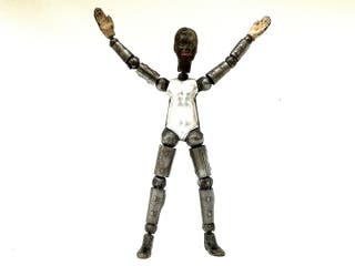 Muñeco articulado SABA Bucherer