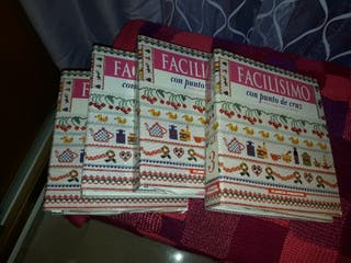 coleccion entera de FACILISIMO con punto de cruz