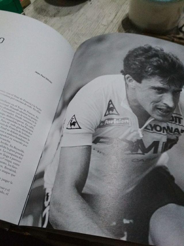 libro de ciclismo muy ilustrado