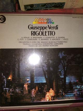 Ópera Rigoletto de Verdi