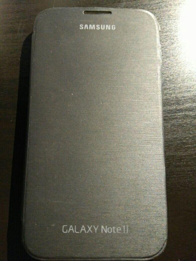 Carcasa dura con tapa Samsung Galaxy Note 2