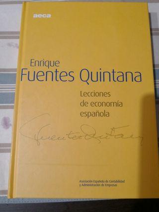 Libros lecciones de economía española