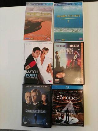 11 DVD et 1 blu-ray