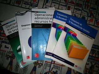 Pack libros 2°Gestión Administrativa