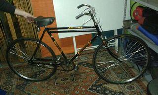 Bicicleta clásica antigua freno varillas