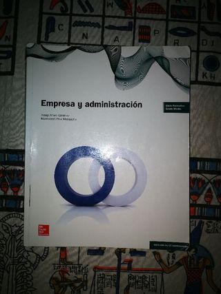 Libro Empresa y administración 2°GA