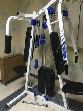 Banco doble de ejercicio