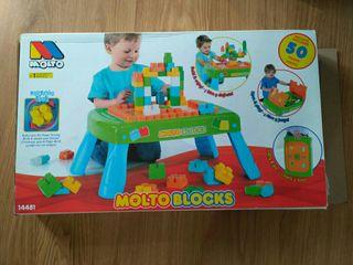 Mesa de bloques 50 piezas