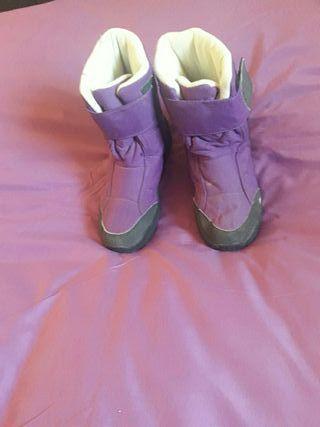 botas de niña o nino para el agua y nieve