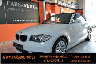 BMW Serie 1 118i cabrio ( descapotable) 2009