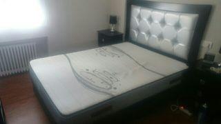 Canapé + colchón + cabecero