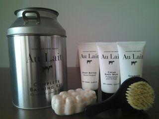 Kit de baño Au Lait