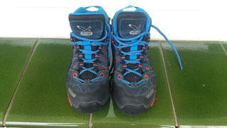 2 pares de botas goretex niño salewa