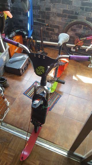 ski bike artesanal dirt jump