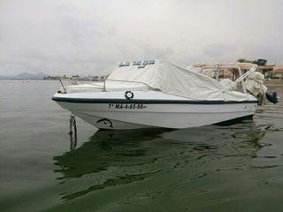 Barca paseo, pesca. recreo,