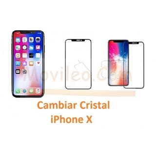 Cambiar Cristal Iphone X