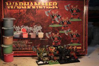 Guerreros Caos Warhammer