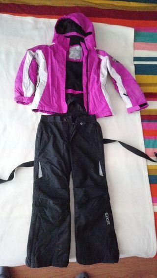 Chaqueta y Pantalon Ski y guantes de regalo!