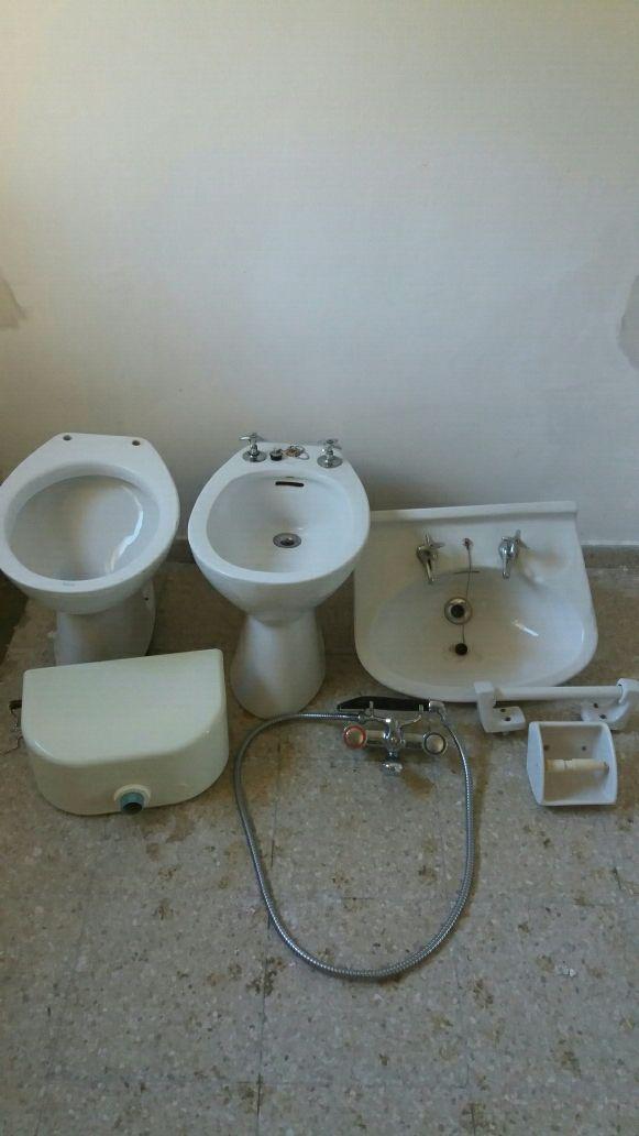 Sanitarios cuarto de baño antiguo de segunda mano por 100 ...