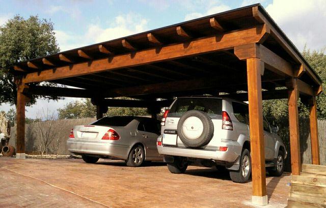 Garajes de madera de segunda mano por 130 en m stoles en wallapop - Garajes para coches ...