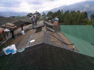 Impermeabilizaciones de tejados.
