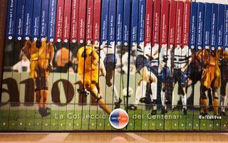 Coleccion libros fcb