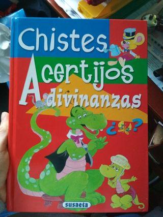 libro de chistes, acertijos y adivinanzas