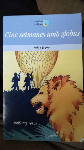 libro Cinc setmanes amb globus