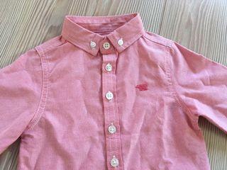 Camisa vestir rosa
