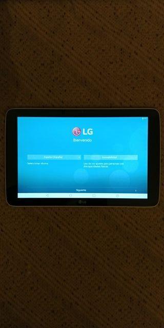 Tablet LG G Pad (V700)