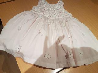 Vestido niña 3-6 meses del mothercare