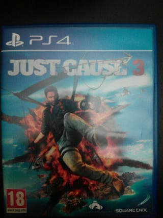 Ps4 juego Just Cause 3