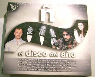 EL DISCO DEL AÑO Ñ 3 CD + DVD.
