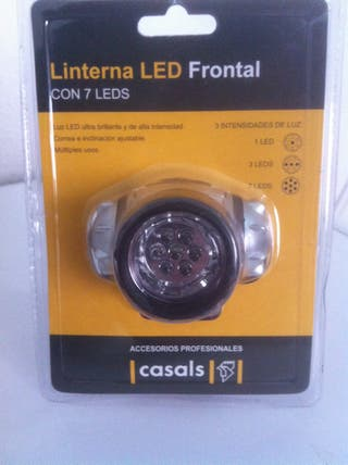 Linterna LED Frontal