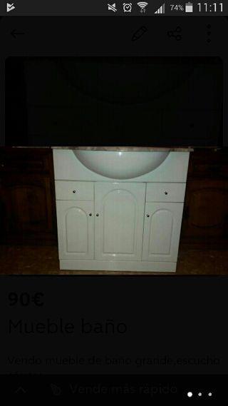 Mueble de ba o de segunda mano en madrid en wallapop - Muebles segunda mano madrid particulares ...