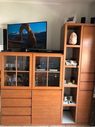 Mueble comedor con mesa TV
