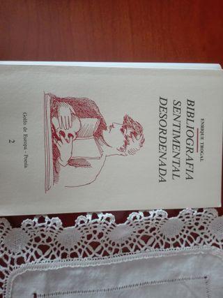 Bibliografía sentimental desordenada Enrique Troga