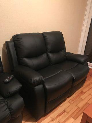 Sofa biplaza masaje ECO-8200