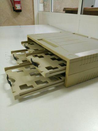 Organizador + soporte