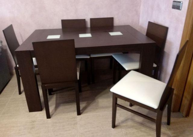 Conjunto comedor completo. Con mesas y sillas. de segunda mano por ...