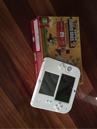 Nintendo 2ds con Juego NSM2
