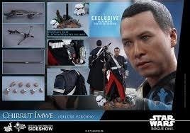 HOT TOYS 1/6 STAR WARS CHIRRUT DELUXE VERSION