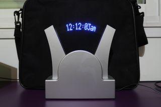 Reloj digital proyector