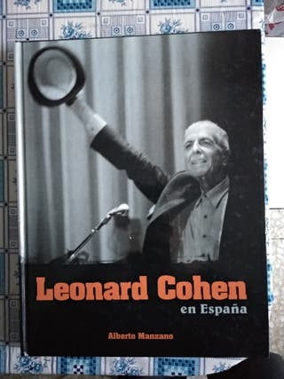 Leonard Cohen libro en España