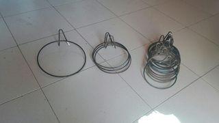Portamaceteros de hierro